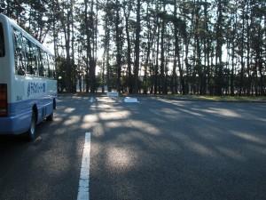 大型バス駐車場
