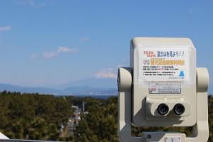 観光望遠鏡で富士山の絶景を見よう!